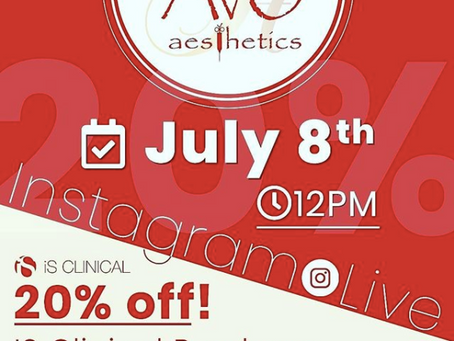 Avo Med Spa Live on Instagram with IS Clinical