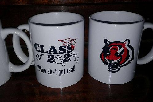 HHS Class of 2020 (When sh*t got real!) 11 0z mug