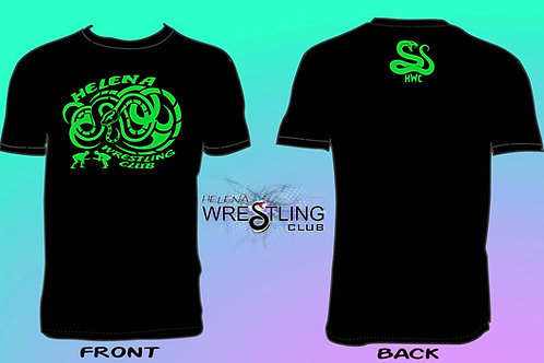 Helena Wrestling Tribal Snake Logo
