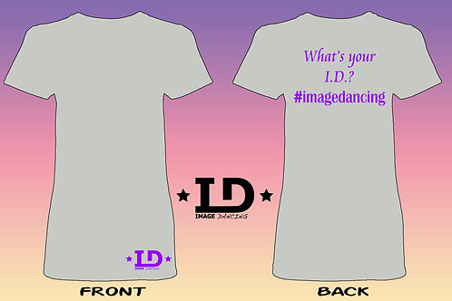 "Image Dancing ""What's Your I.D.?""Women's Fit Shortsleeve"
