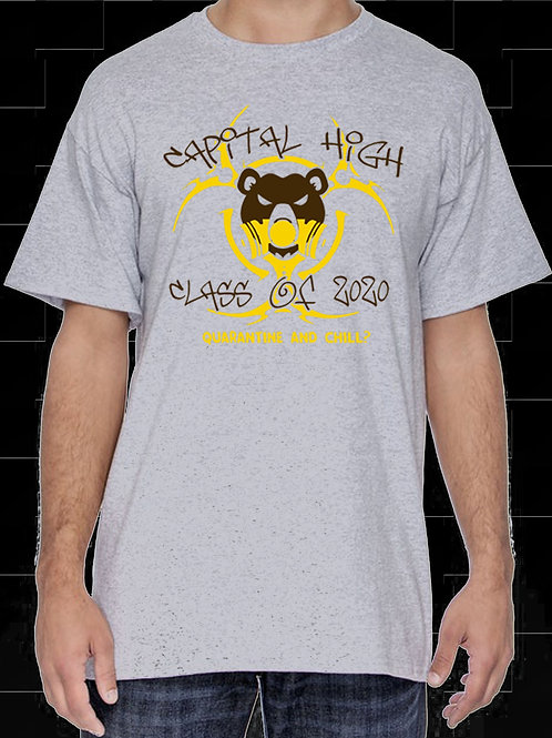 "CHS Class of 2020 ""Quarantine and Chill?"" T-Shirt"