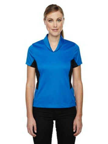 Women's Rotate UTK cool.logik Quick Dry Performance Polo (Olympic Blue)