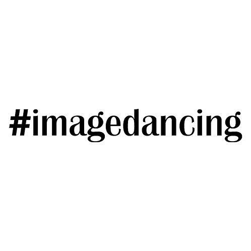 #imagedancing decal sticker 10.5 inch x 1.5 inch