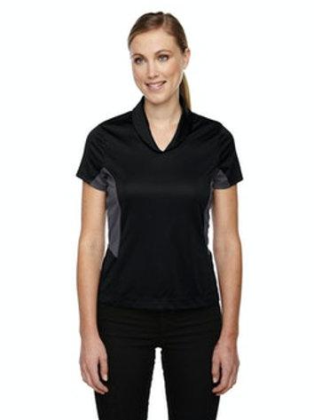 Women's Rotate UTK cool.logik Quick Dry Performance Polo (Black)