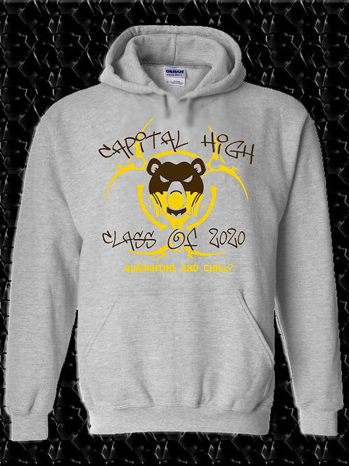 "CHS Class of 2020 ""Quarantine and Chill?""Hoodie"