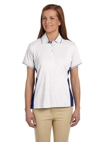 Women's Dri-Fast Advantage Polo (White/New Navy)