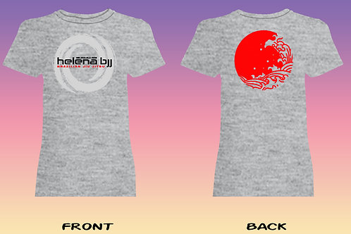 HBJJ Sport Grey T-Shirt Women's Style (Cotton)