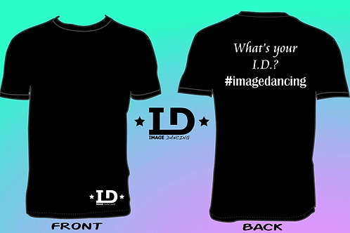 "Image Dancing ""What's Your I.D.?"" T-Shirt (Adult Unisex Fit)"