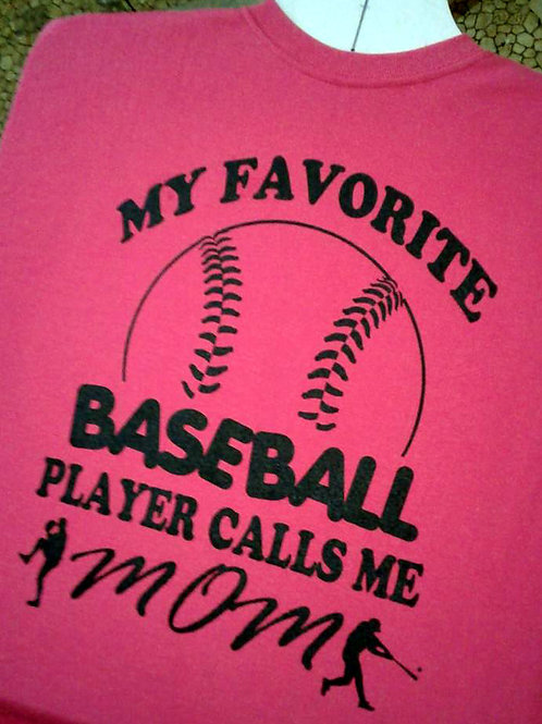 Baseball Mom (Adult Unisex Shirt Style)