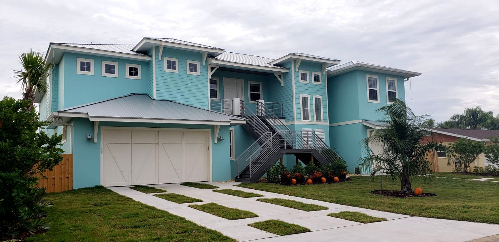 RESIDENTIAL EXTERIOR PAINTING AT NEW SMYRNA