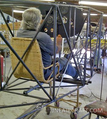 8. 8-12-12 John tests the seat.jpg