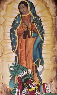Virgen de Guadalupe y Cihuacoatl, 2019