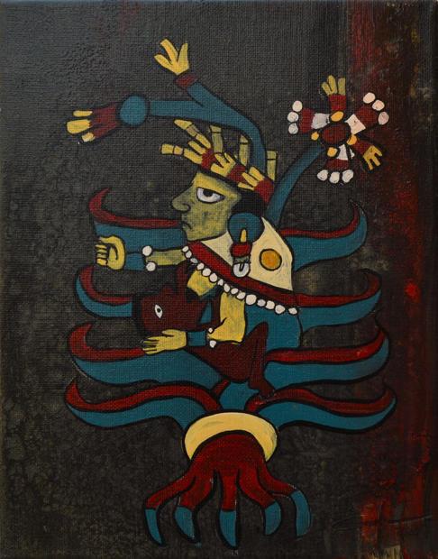 Mayahuel, Acrylic on Canvas, 2020.JPG