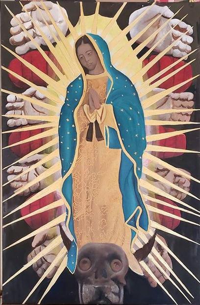 Virgen de Guadalupe y Manos de Coatlicue 2020