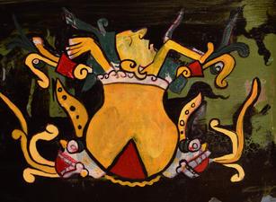 Pozole, Acrylic on Canvas, 2020
