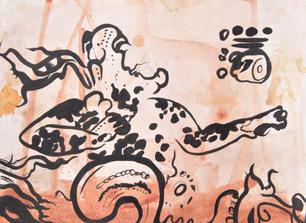 Jag, Watercolor & Ink, 2020
