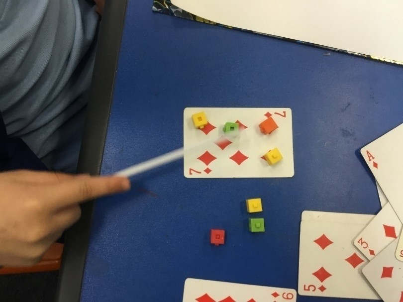 Mystery card counting