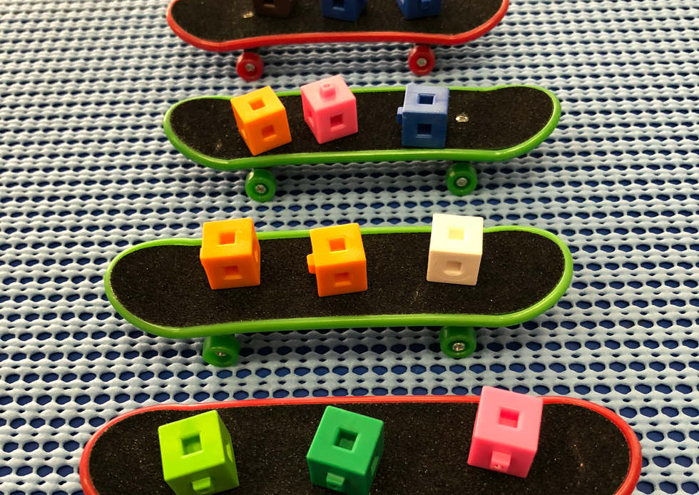 Skateboard arrays