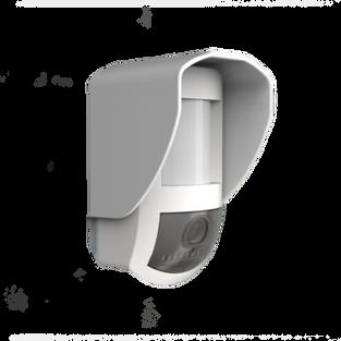 Sensor de movimiento de exterior con cámara
