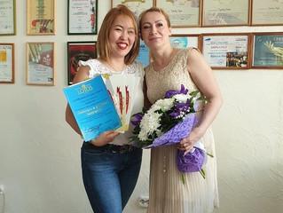 Вот у нас и готов наш новый преподаватель из г.Иркутска Анна.