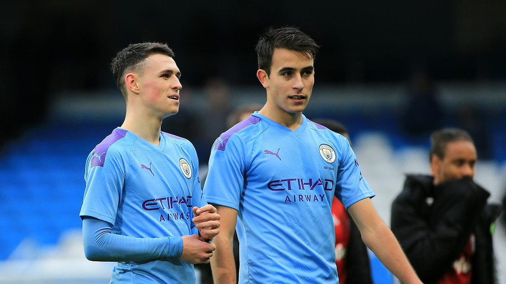 Manchester City's Youth - Phil Foden and Eric Garcia