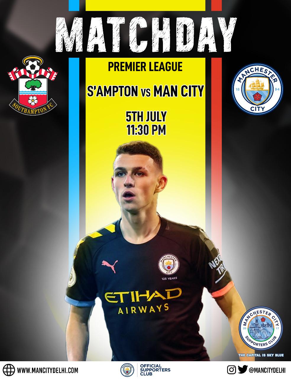Southampton vs Manchester City Premier League match preview, team news, lineup prediction
