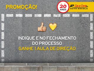 #IndicaPromo | Indique e no fechamento ganhe 1 aula de direção