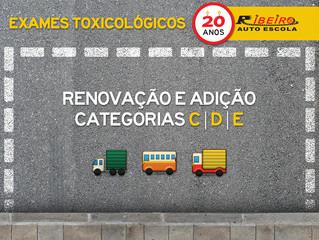 DETRAN-MG divulga nota sobre retomada de exigência do exame toxicológico