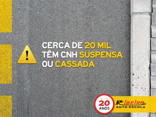 CNH Suspensas ou Cassadas