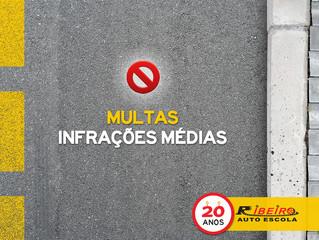 Multas | Infrações Médias