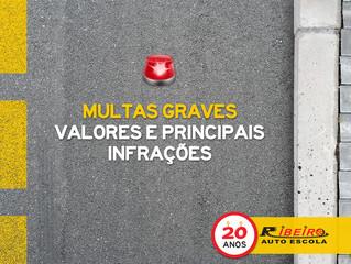 Conheça mais sobre Multas Graves