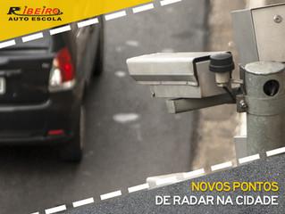 Novos radares de velocidade na cidade