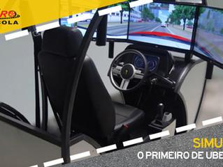 Sempre na frente, Auto Escola Ribeiro traz o 1º Simulador de Direção de Uberlândia!