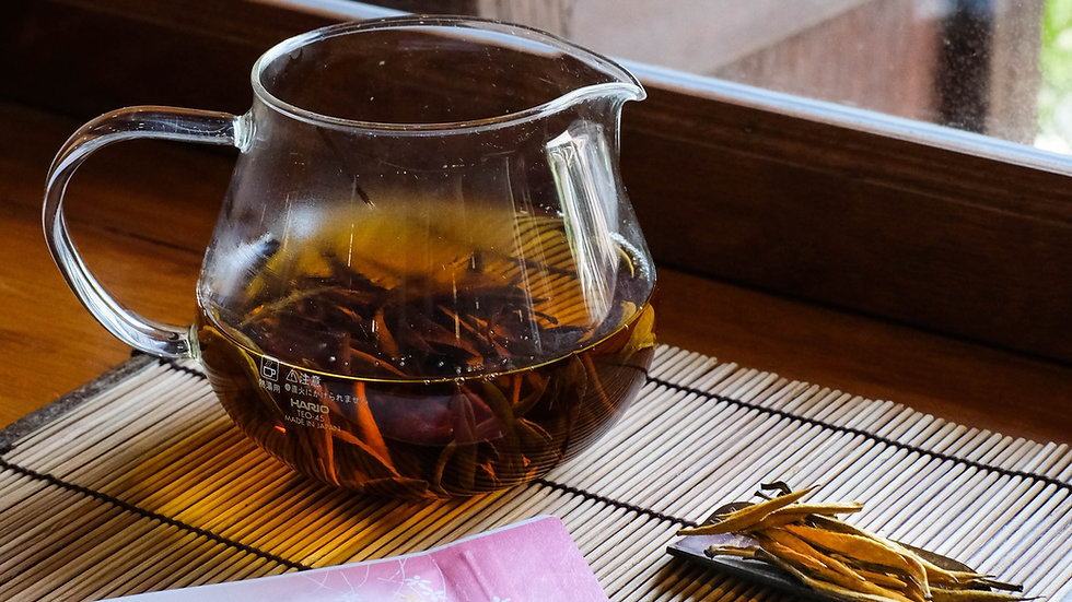 Dianhong Jinya, Top Quality Yunnan Pure Golden Buds Red Tea