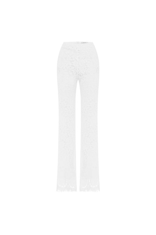 Flared Lace Pants by Lover