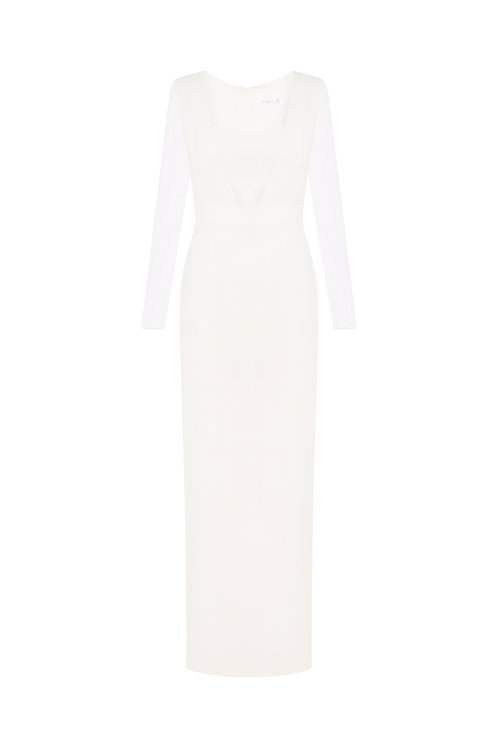 Front Cutout Gown by Carla Zampatti
