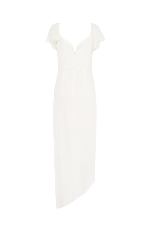 Silk Flutter Long Dress by Zimmermann
