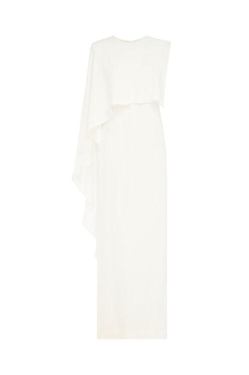 Crepe Column Gown by Carla Zampatti
