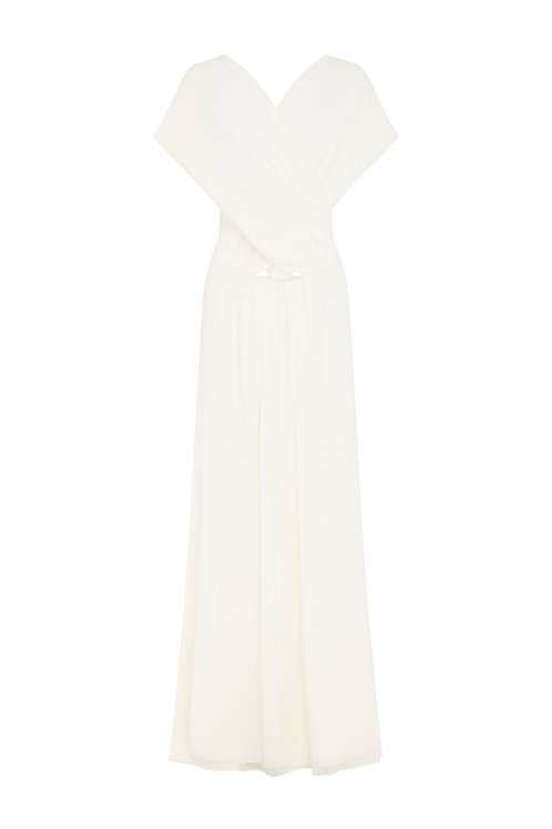 Georgette 7 Year Itch gown by Carla Zampatti