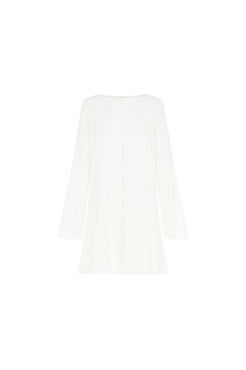 Radiate Godet Sleeve Dress by Ellery