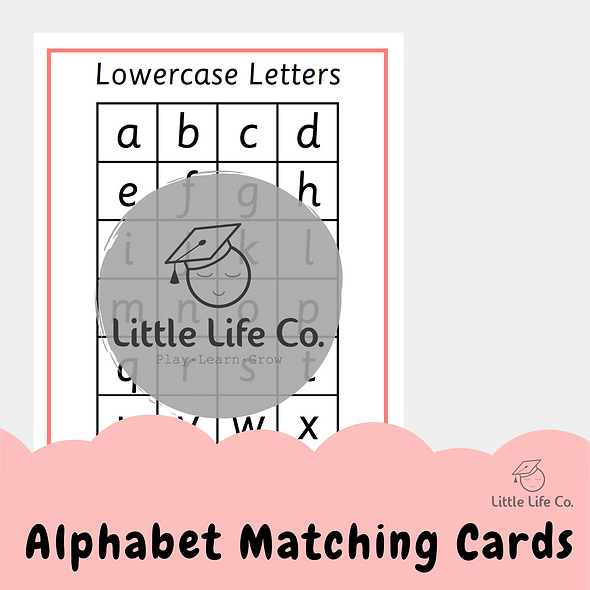 Alphabet Matching Cards (Digital)