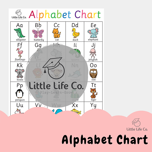 Alphabet Chart (Digital)
