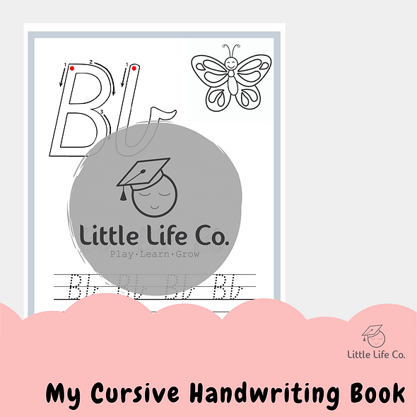 My Cursive Handwriting Book (Digital)