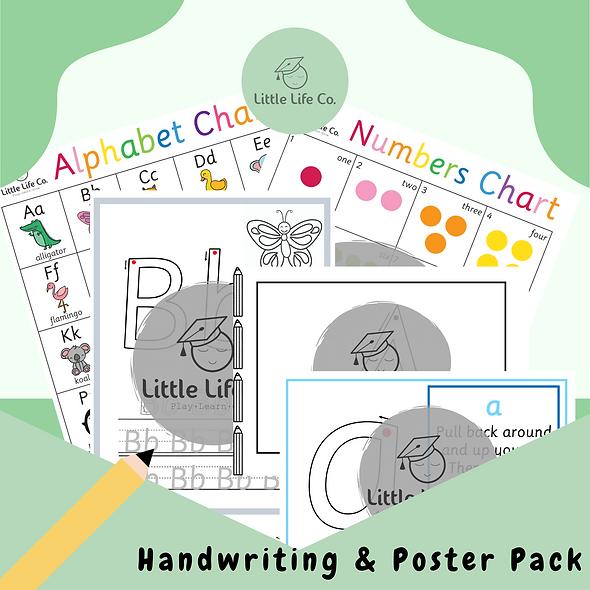Handwriting & Poster Packs
