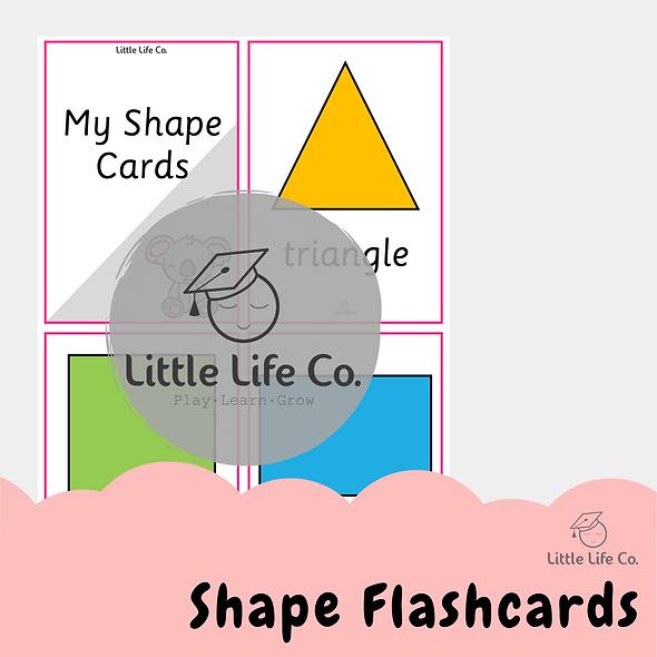 Shape Flashcards (Digital)