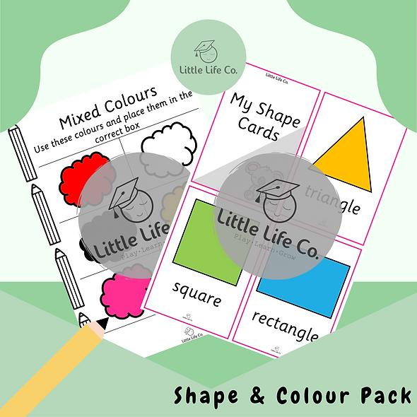 Shape & Colour Pack