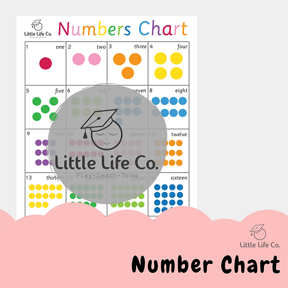 Number Chart (Digital)