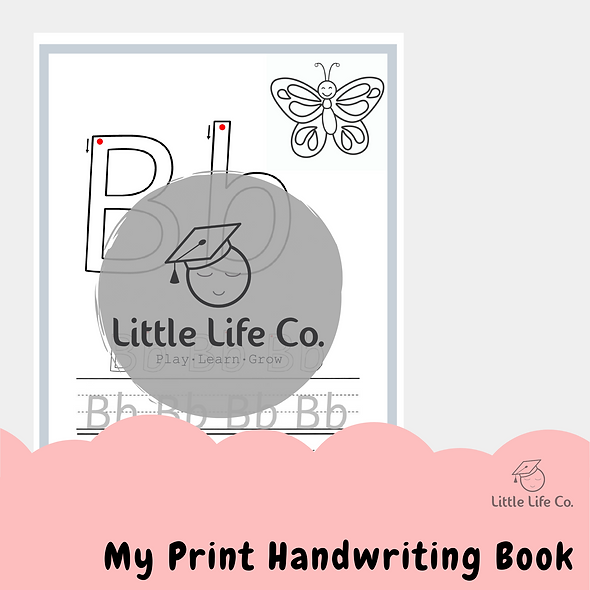 My Print Handwriting Book (Digital)