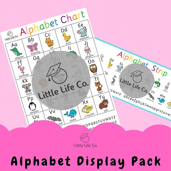 Alphabet Display Pack (Digital)