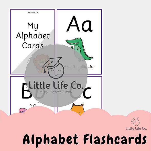 Alphabet Flashcards (Digital)